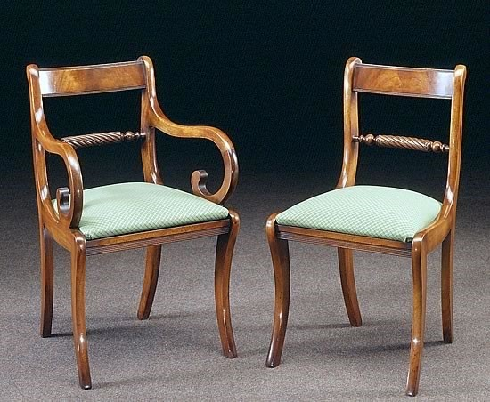 Listed chairs